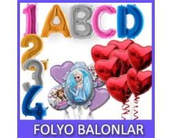 Harf & Rakam Folyo Balonlar