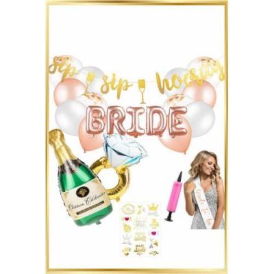 Bekarlığa Veda Temalı Bride Rose Set