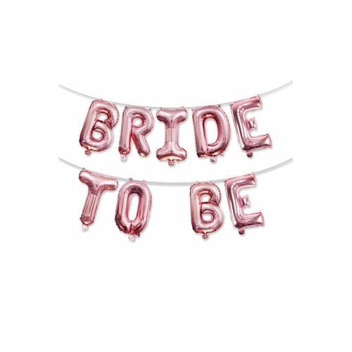 Bride To Be Rose Gold Balon Seti 75cm