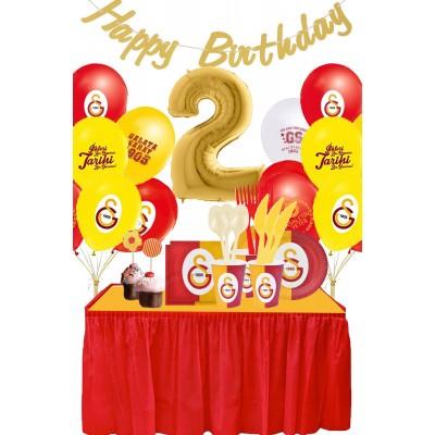 Galatasaray 2 Yaş Doğum Günü Parti Seti