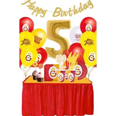 Galatasaray 5 Yaş Doğum Günü Parti Seti (8 Kişilik)