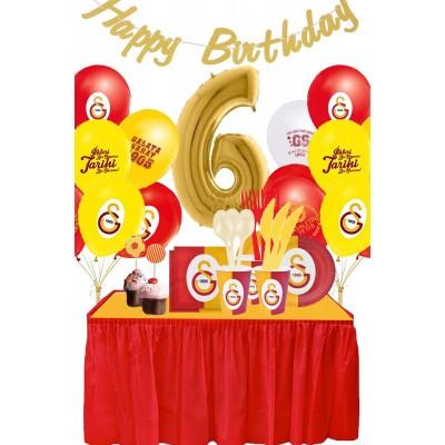 Galatasaray 6 Yaş Doğum Günü Parti Seti