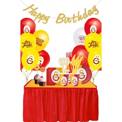 Galatasaray Doğum Günü Parti Seti