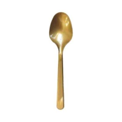 PLASTİK KAŞIK GOLD 10LU
