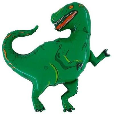 Yeşil Renk Dinozor Supershape Folyo Balon 92 cm